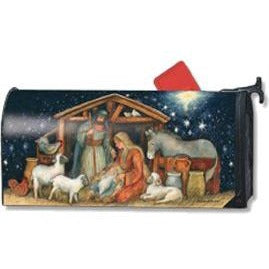 Holy Night Standard Mailbox Cover - FlagsOnline.com by CRW Flags Inc.