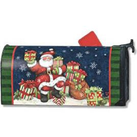 Santas Gifts Standard Mailbox Cover - FlagsOnline.com by CRW Flags Inc.