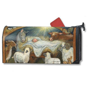 Christ Is Born Standard Mailbox Cover - FlagsOnline.com by CRW Flags Inc.