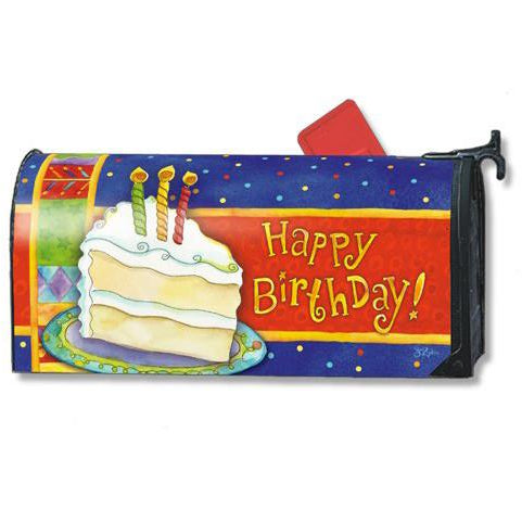Happy Birthday Standard Mailbox Cover - FlagsOnline.com by CRW Flags Inc.