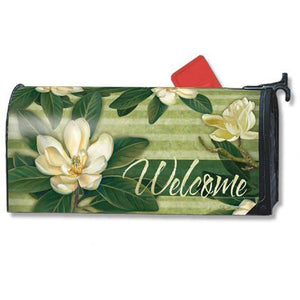 Magnolia Standard Mailbox Cover - FlagsOnline.com by CRW Flags Inc.