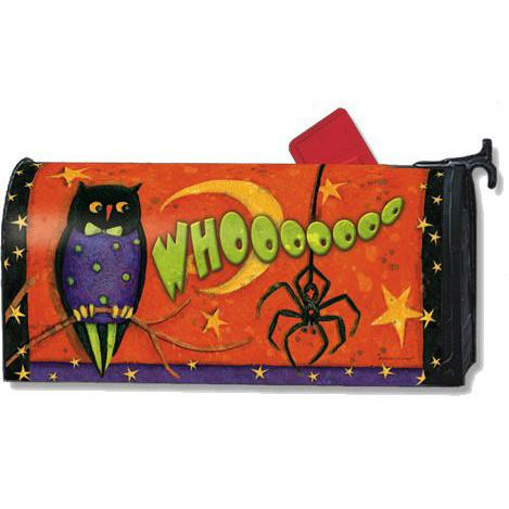 Night Owl Standard Mailbox Cover - FlagsOnline.com by CRW Flags Inc.