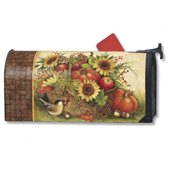 Fall Basket Standard Mailbox Cover - FlagsOnline.com by CRW Flags Inc.