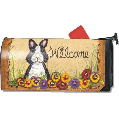 Pansy Patch Standard Mailbox Cover