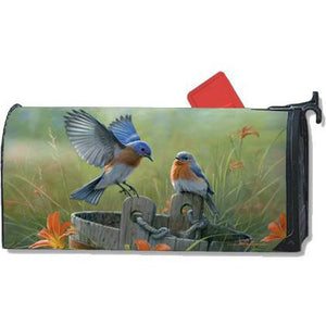 Bluebird Landing Standard Mailbox Cover - FlagsOnline.com by CRW Flags Inc.