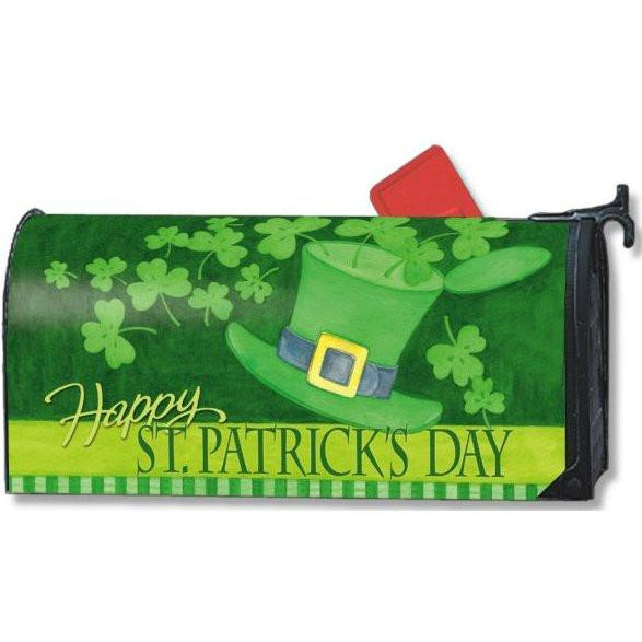 St. Patrick's Day Standard Mailbox Cover