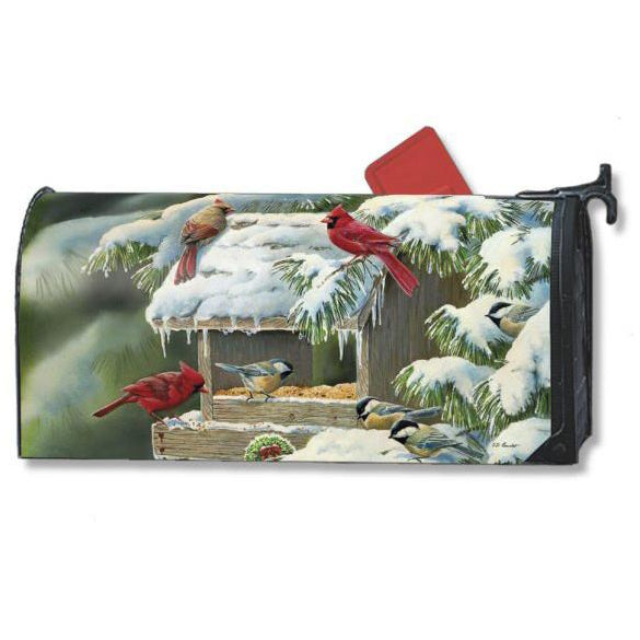 Winter Feeder Standard Mailbox Cover - FlagsOnline.com by CRW Flags Inc.
