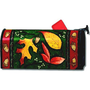 Leaf Toss Standard Mailbox Cover - FlagsOnline.com by CRW Flags Inc.