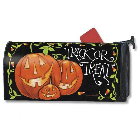 Halloween Treat Standard Mailbox Cover
