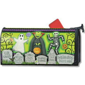 Monster Mash Standard Mailbox Cover - FlagsOnline.com by CRW Flags Inc.