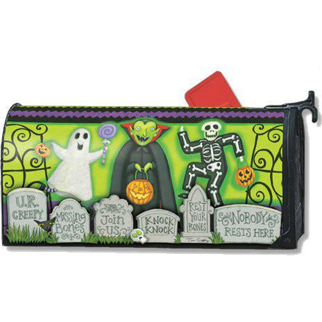 Monster Mash Standard Mailbox Cover