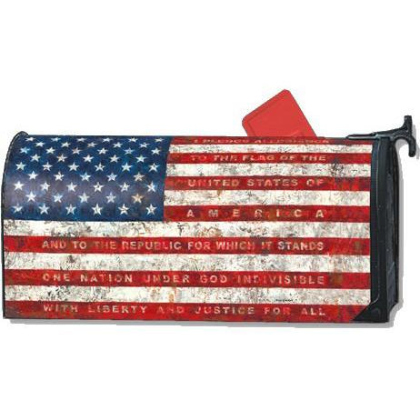 Pledge of Allegiance Standard Mailbox Cover - FlagsOnline.com by CRW Flags Inc.