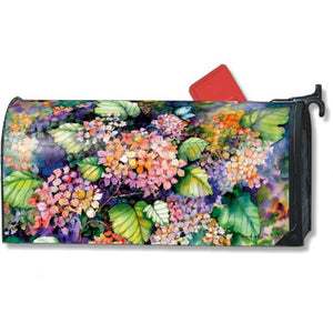 Fall Hydrangea Standard Mailbox Cover - FlagsOnline.com by CRW Flags Inc.