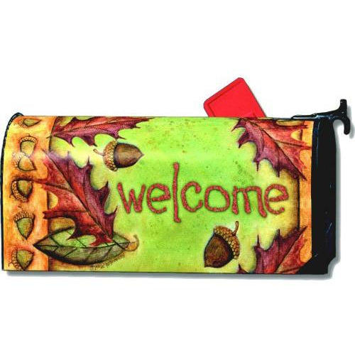 Fall Welcome Standard Mailbox Cover - FlagsOnline.com by CRW Flags Inc.