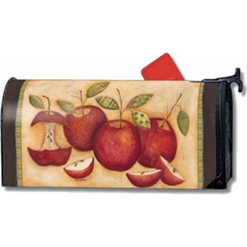 Primitive Apples Standard Mailbox Cover