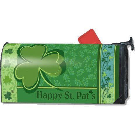 Happy St. Pats Standard Mailbox Cover - FlagsOnline.com by CRW Flags Inc.