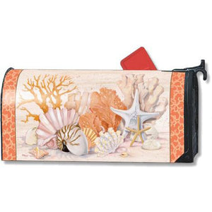 Coral Reef Standard Mailbox Cover - FlagsOnline.com by CRW Flags Inc.