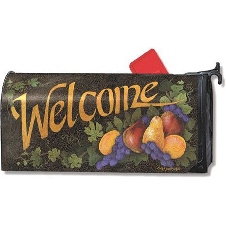 Bountiful Welcome Standard Mailbox Cover - FlagsOnline.com by CRW Flags Inc.