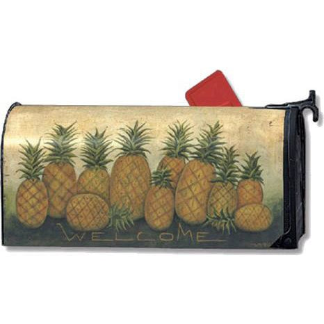 Pineapples Standard Mailbox Cover - FlagsOnline.com by CRW Flags Inc.