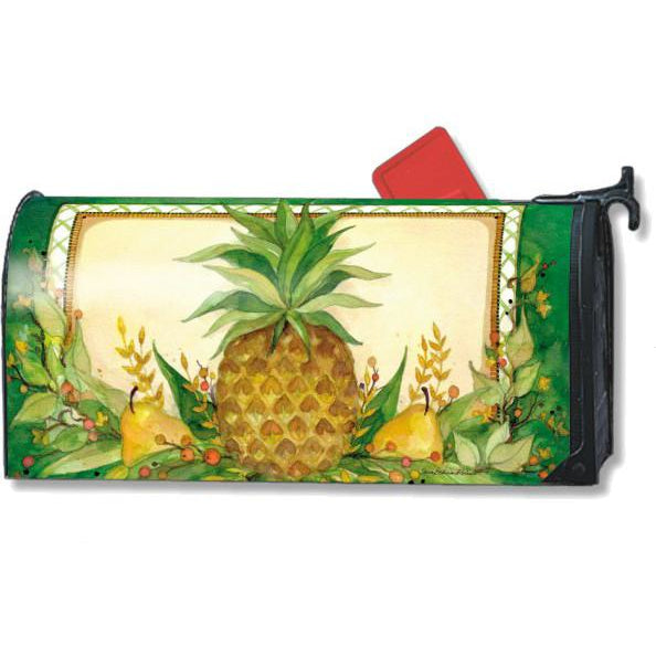Pineapple & Pears Standard Mailbox Cover - FlagsOnline.com by CRW Flags Inc.