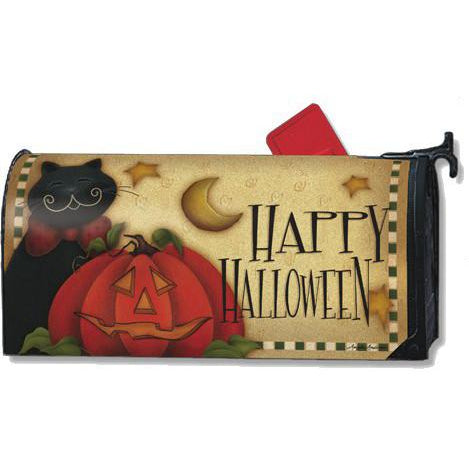 Happy Halloween Standard Mailbox Cover