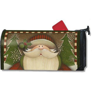 Santa Standard Mailbox Cover - FlagsOnline.com by CRW Flags Inc.