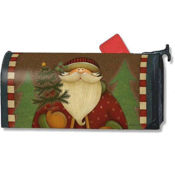 Santa's Forest Standard Mailbox Cover - FlagsOnline.com by CRW Flags Inc.
