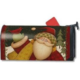 Lodge Santa Standard Mailbox Cover - FlagsOnline.com by CRW Flags Inc.