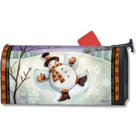 Snow Angel Standard Mailbox Cover - FlagsOnline.com by CRW Flags Inc.