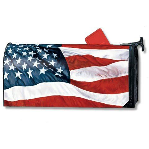 Stars & Stripes Standard Mailbox Cover - FlagsOnline.com by CRW Flags Inc.