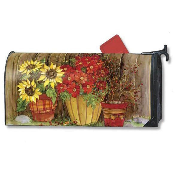 Fall Flowers Standard Mailbox Cover - FlagsOnline.com by CRW Flags Inc.