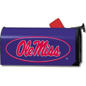 University of Mississippi Standard Mailbox Cover- FlagsOnline.com by CRW Flags Inc.