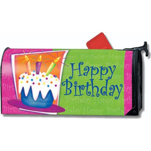 Birthday Cake Standard Mailbox Cover - FlagsOnline.com by CRW Flags Inc.