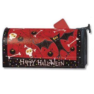 Bats & Bones Standard Mailbox Cover - FlagsOnline.com by CRW Flags Inc.