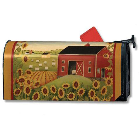 Sunflower Farm Standard Mailbox Cover