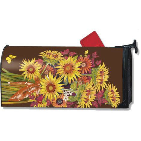 Sunflower Bouquet Standard Mailbox Cover - FlagsOnline.com by CRW Flags Inc.