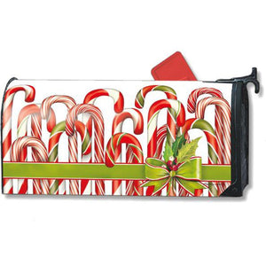 Candy Canes Standard Mailbox Cover - FlagsOnline.com by CRW Flags Inc.