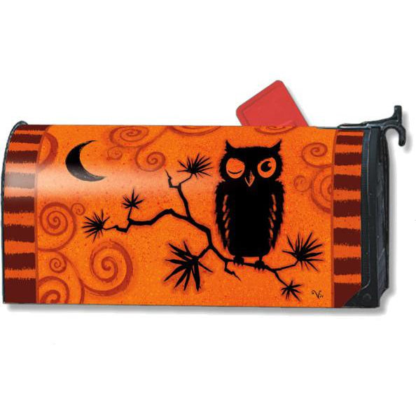 Hoot Owl Standard Mailbox Cover - FlagsOnline.com by CRW Flags Inc.