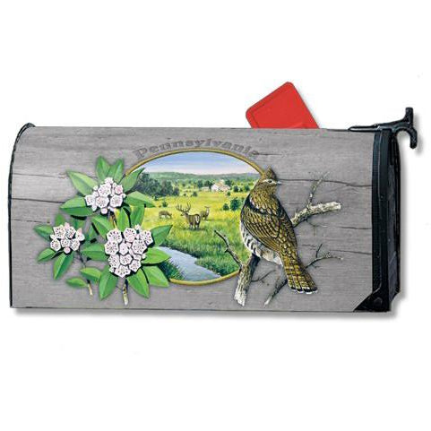 State Bird Pennsylvania Standard Mailbox Cover - FlagsOnline.com by CRW Flags Inc.