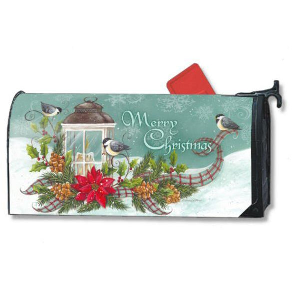 Christmas Lantern Standard Mailbox Cover