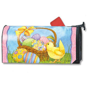 Easter Basket Standard Mailbox Cover - FlagsOnline.com by CRW Flags Inc.