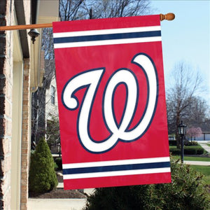 Washington Nationals House Flag 2 Sided