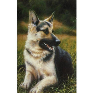German Shepherd Puppy - House Flag - FlagsOnline.com by CRW Flags Inc.