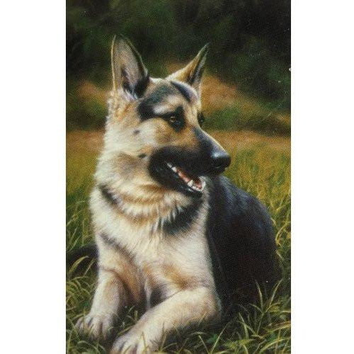 German Shepherd Puppy - House Flag