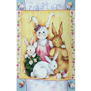 Easter Family - House Flag - FlagsOnline.com by CRW Flags Inc.