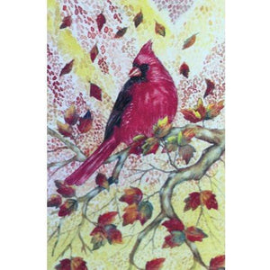 Fall Cardinal - House Flag - FlagsOnline.com by CRW Flags Inc.