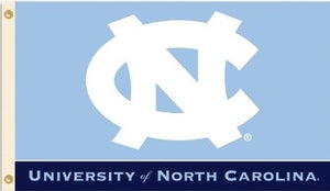 University of North Carolina 3x5ft Flag