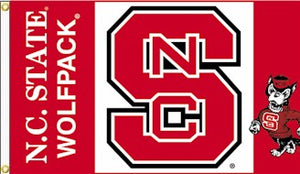 North Carolina State University 3x5ft Flag
