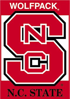 North Carolina State University House Flag 2 Sided