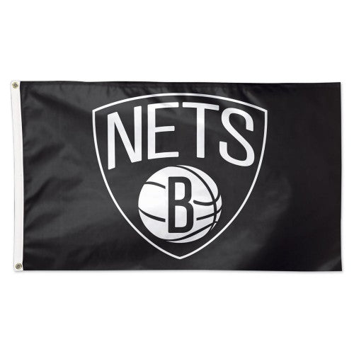 Brooklyn Nets 3x5ft Deluxe Flag
